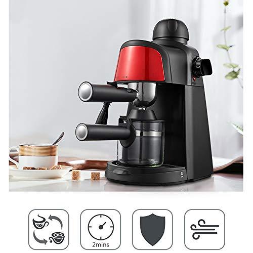 800W Kaffeemaschine Espresso 5 Bar Dampfdruck Halbautomat Hause Dampf Kaffeemaschine Mit Milchschaum Düse Für Espresso Cappuccino Latte 4 Tasse 328X182x330mm