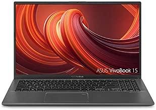 "ASUS VivoBook 15 Thin and Light Laptop, 15.6"" Full HD, AMD Quad Core R5-3500U CPU, 8GB DDR4 RAM, 256GB PCIe SSD, AMD Radeon Vega 8 Graphics, Windows 10 Home, F512DA-EB51, Slate Gray (Renewed)"