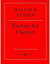 [(Fantasy for Clarinet * * )] [Author: Malcolm Arnold] [Mar-2001]