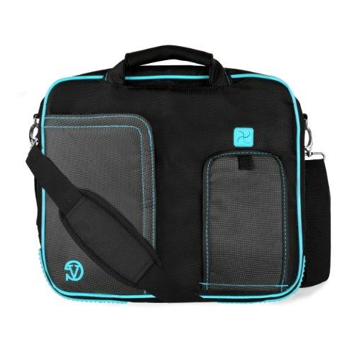 Vangoddy Pindar messenger bag per Samsung Chromebook Series/Galaxy Book/Galaxy Tab/Notebook m 25,4- 30,5cm Small Sky Blue