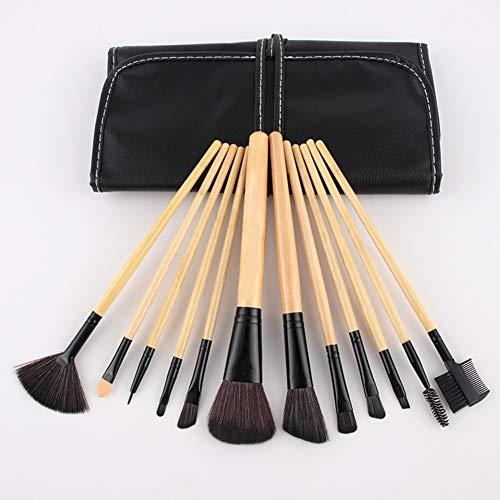 Maquillage Brush Set Maquilleur Beauty Studio Professional Outils Fard À Joues Ombre À Paupières Brosse Avec Un Sac De Brosse,1