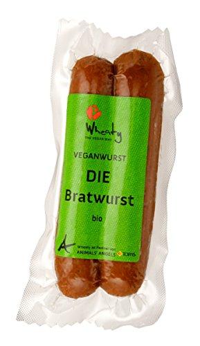 Topas Wheaty Bio Vegan Bratwurst 130g