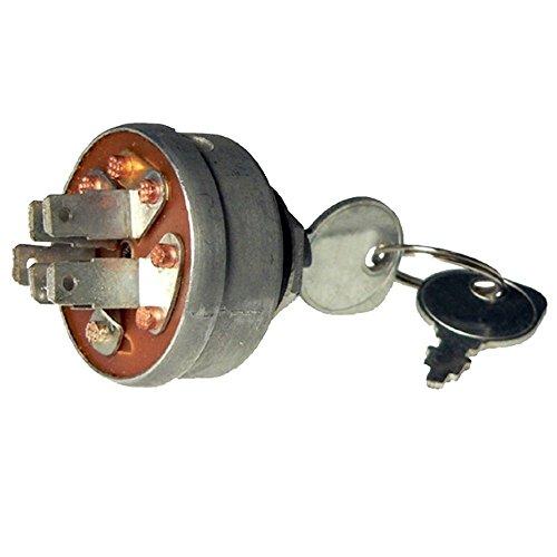 Jonyandwater 129746 129846 Ignition Key Switch for Jacobsen HF-5 Turf Cat 50 60 Greens King,#id(reliableaftermarketpartsinc_13401131876895