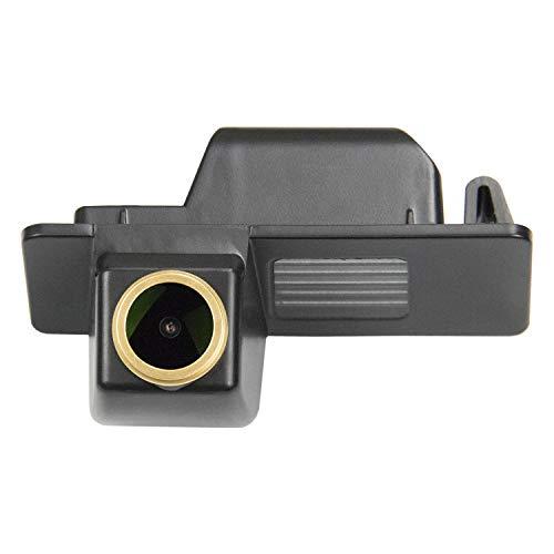 HD Goldene Kamera 1280x720p Nachtsicht Rückfahrkamera Einparkkamera Wasserdicht Farb Rueckfahrkamera für Opel Mokka Chevrolet Orlando Aveo Cruze Equinox Trax Trailblazer Cadillac Cts XTS SRX 12-14