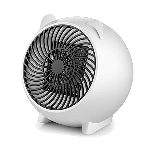 Heizlüfter Elektrische Heizungen Mini-Desktop-Heater Intelligente Temperiergeräte Energiesparmodi Mute -250W