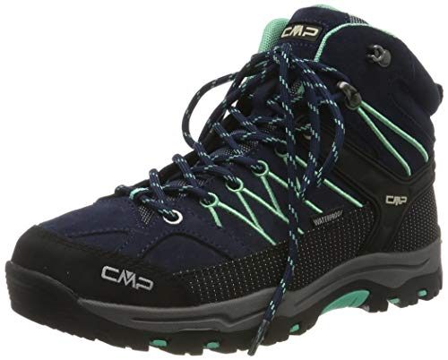 CMP Unisex-Erwachsene Rigel Mid Trekking- & Wanderstiefel, Blau (B.Blue-Aqua Mint 12nd), 40 EU