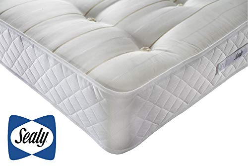 Sealy Backcare Ortho Mattress, Posturepedic Technology, Core Support Spring System,Maximum Support, Firm Feel, Double