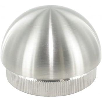 Edelstahlstopfen Gel/änderstopfen kugelf/örmig /Ø 42,4mm