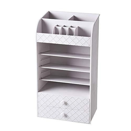 Brmind-Cosmetic storage box Support de Rangement pour Table de présentation pour Organisateur de cosmétiques pour Maquillage