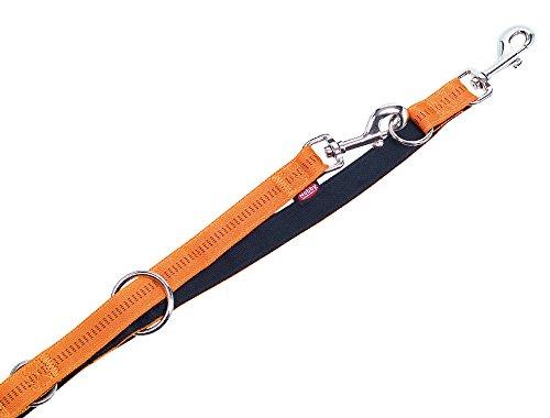 """Nobby Führleine \""""Soft Grip\"""" orange L: 200 cm; B: 20 mm"""