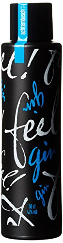 Feel! Munich Dry Gin Limited Black Edition - Bio - Sonderedition - Handmade(1 x 0.5 l)