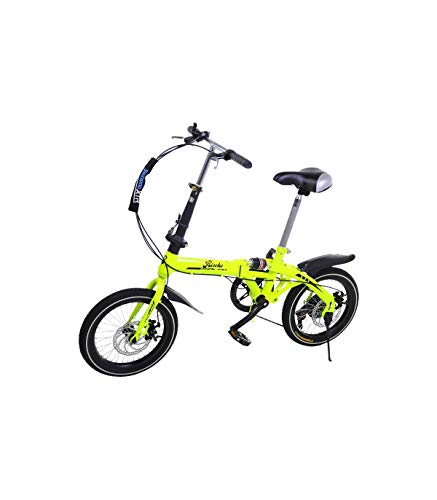 Riscko - Bicicleta Plegable Urbana | Cambios Shimano | Super Bike Unisex | Modelo bep-32 | Adulto de 16