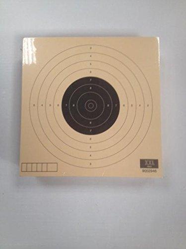 NEEZ Parabalas de Metal para dianas de 14x14cm Soporte de dianas para Pistolas de Aire comprimido