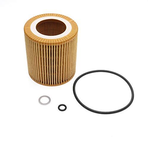 iFJF HU816X Oil filter for BMW 3 4 5 6 7 M3 M4 X1 X3 X4 X6 Z4 Replaces PF461G 72241WS 11427541827 11427566327 11427640862 19254713 CH10075 57327