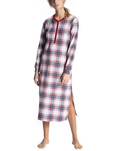 CALIDA Damen Family & Friends Nachthemd, Rot (Rio Red 167), 36 (Herstellergröße: XS)