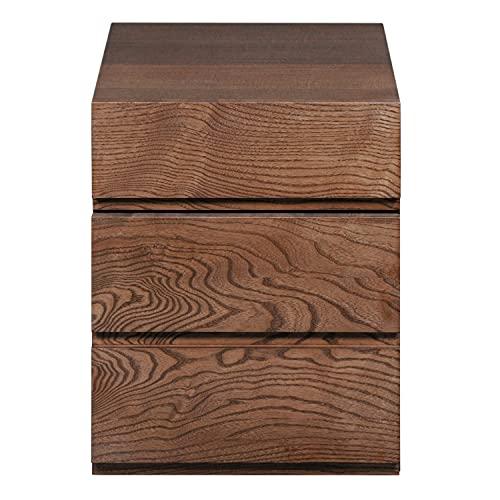 GONTIER - Cajonera de escritorio con 2 cajones, 45 x 55 cm