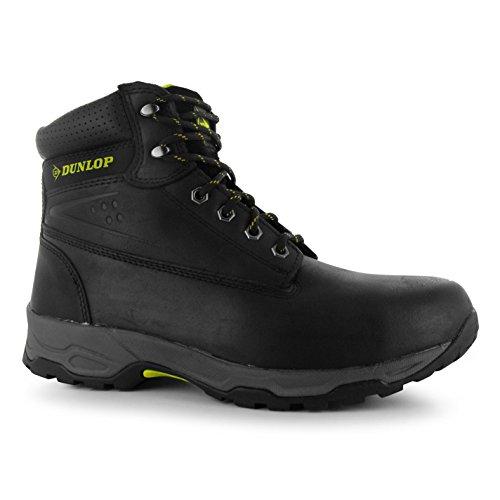 Dunlop Herren Safety On Site Arbeitsstiefel Stiefel Schuhe Schnuerschuhe Schwarz 10.5(44.5)