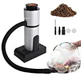Freehawk Smoking Gun Food Drink Smoker New Upgrade Portable Smoke Infuser for Meat, Cocktails, BBQ, Cheese, Salmon (Wood Chips Included)