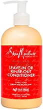 Sheamoisture Conditioner for Curly Hair Red Palm Oil and Cocoa Butter with Flaxseed Oil 13 oz