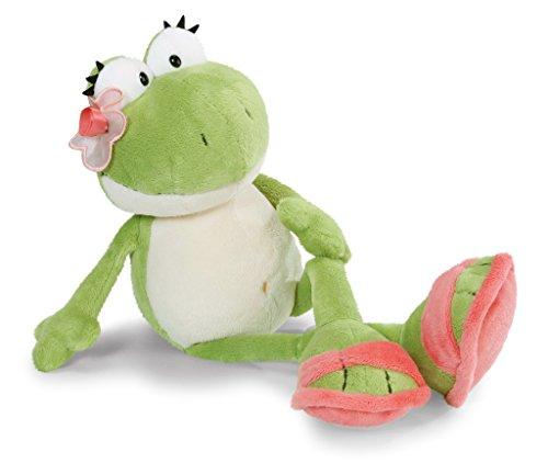NICI 41664.0 Sommer Kuscheltier Frosch, 35 cm