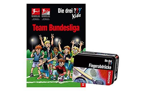 Franckh-Kosmos Verlag Die DREI ??? Kids, Team Bundesliga (Gebundene Ausgabe) + Forscherkästchen (Verschiedene Auswahl)