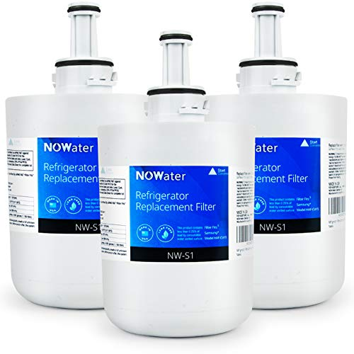 Now Water | Premium Replacement Samsung Refrigerator Water Filter | Made in USA NSF UPC Certified Filter Replacement | HAF-CU1S, HAF-CU1, DA00003A, DA29-00003, DA29-00003A-B, more | 3 Pack