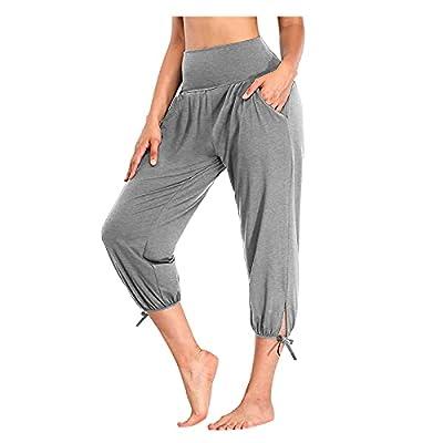 Amazon - Save 80%: DRAGONHOO Women's Yoga Pants Loose Sports Pants with Pockets Comf…