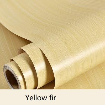 yuandp waterdicht retro houten behang PVC vinyl zelfklevende folie meubels renovatie keuken slaapkamer tafel deurcontact papier 60 cm x 3 m