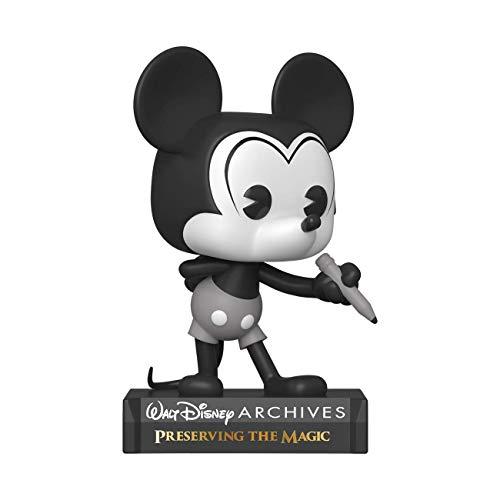 Funko POP Disney: Archives - Mickey Mouse (B&W) Figura da Collezione, 49889, Multicolore