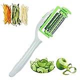 Heavy duty Multifunction Swivel Stainless Steel Vegetable Peeler for Potato, Fruits, Carrot, Slicer,...