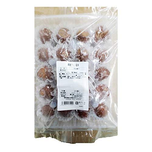 【冷凍】 北九食品 黒糖プリン風味 20g×20個 業務用 洋風 くず餅 茶菓子