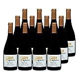 Premium La Mûre de Roncier Rouge 2020 - Roncier - Appellation VDF Vin de France - Origine Bourgogne - Vin Rouge de Bourgogne - Lot de 12x75cl - Cépage Pinot Noir