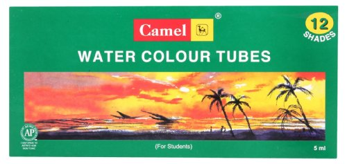 Camel Student Water Color Tube - 5Ml Each, 12 Shades |