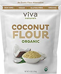 coconut flour for making easy gluten-free pumpkin pancakes
