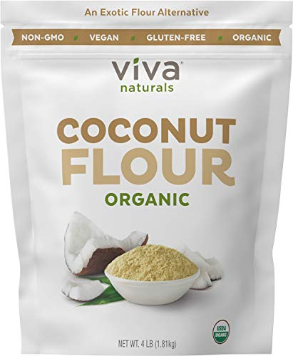 (4 Pack) BobS Red Mill Organic Coconut Flour, 16 Oz