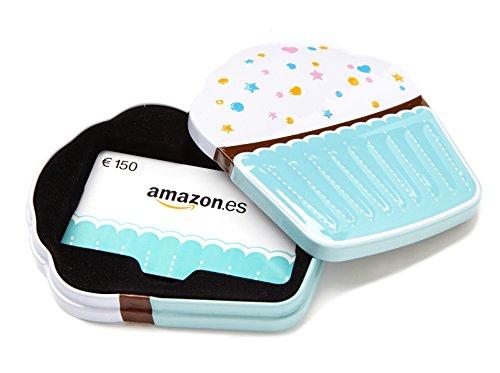 Tarjeta Regalo Amazon.es - €150 (Estuche Cupcake)