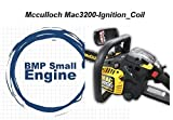 BMotorParts Ignition Coil for McCullloch Mac 3200 Chainsaw Chain Saw