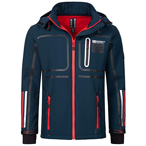 Geographical Norway Softshell Jacke Romain Navy L