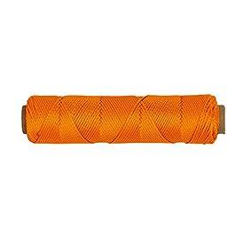 SGT nœuds tressé en nylon Mason Ligne # 18–250, 500, ou 1000Pieds (plusieurs couleurs) 250′ Florensent Orange