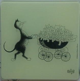 /Gatto Mignon /Mini vassoio Gatti di Dubout/ Edizioni Clouet 58325/