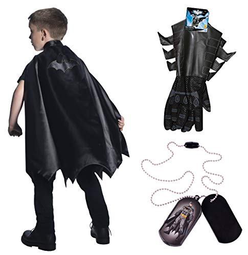 DC Comics Child's Batman Cape and Accessory Bundle