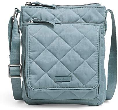 Vera Bradley Performance Twill Mini Hipster Crossbody Purse with RFID Protection Blue Oar product image