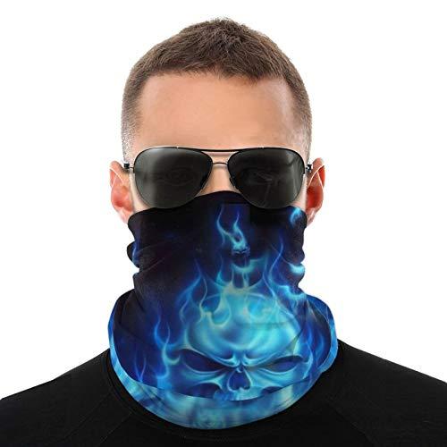 Bufanda de cuello calentador de cráneo fuego fuego fuego fuego durable invierno máscara cara máscara de cuello polaina pasamontañas cubierta para hombres mujeres niños correr esquí ciclismo
