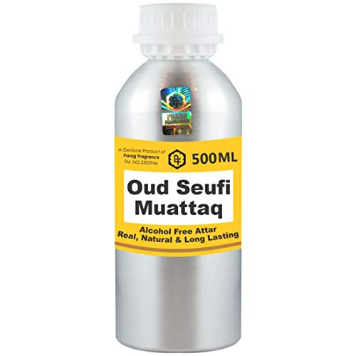 Photo of Parag Fragrances Oud Seufi Muattaq Attar 500ml Wholesale Pack Attar (Alcohol Free, Long Lasting Attar For Men – Women & Religious Use) Worlds Best Attar | Itra | Fragrance Oil | Scent