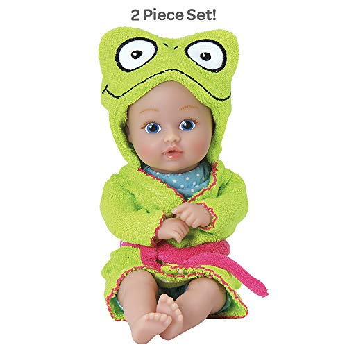 Bathtime Frog 8.5 inches is the perfect bath toy for toddlers