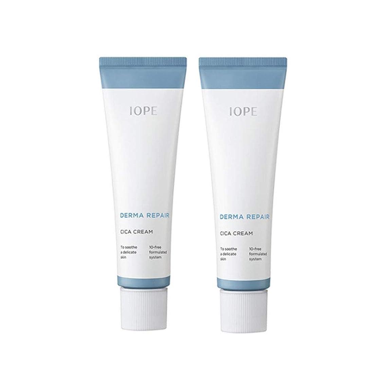 タウポ湖野心わずかなアイオペダーマリペアシカクリーム 50mlx2本セット 損傷のスキンケア韓国コスメ、IOPE Derma Repair Cica Cream 50ml x 2ea Set Damaged Skin Care Korean Cosmetics [並行輸入品]