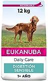 EUKANUBA Daily Care Alimento Seco para Perros Adultos con Digestión Sensible 12 kg