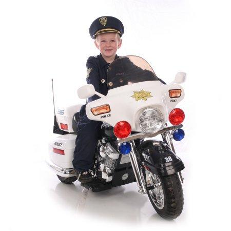 Kid Motorz Police Motorcycle 12-Volt...