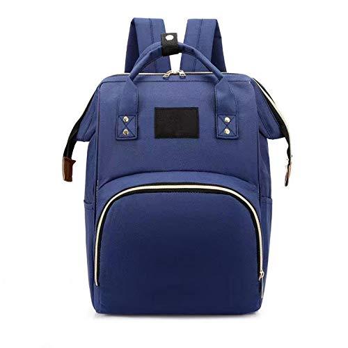 YGWALL Bolsa de bebé de Gran Capacidad, Mochila de Viaje multifunción Bolsas de pañales, Bolsa de enfermería, para niños y niñas Azul