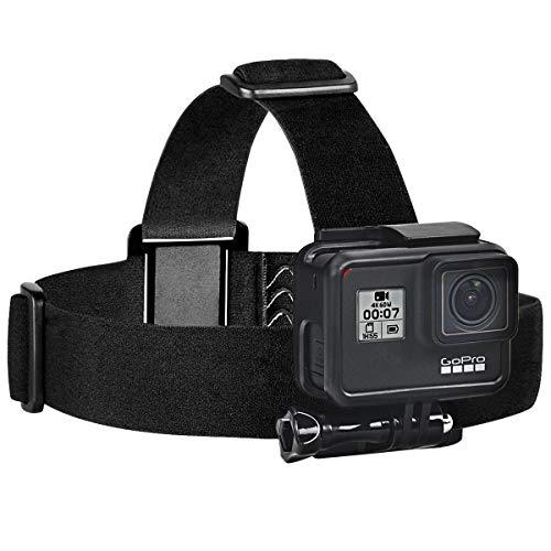 Sametop Headstrap Kopfband Halterung Kopfgurt Kompatibel mit GoPro Hero 9, 8, 7, 6, 5, 4, Session, 3+, 3, 2, 1, Hero (2018), Fusion, Max Kameras